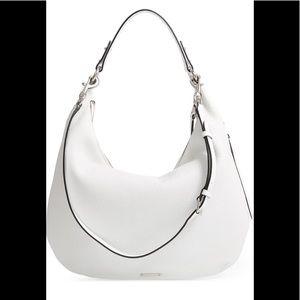 NWT REBECCA MINKOFF Michelle Leather Hobo $295
